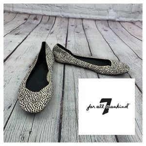 7FAM Animal print flat shoes